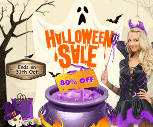 Halloween Sale! Up to 80% off for your big saving! Shop now!