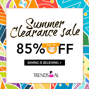 Say bye to summer with the most beatiful look! Welcome to Trendsgal to choose your styles and you can enjoy up to 85% off and from $1.99 only. Don't miss out!