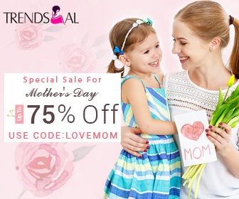 Mother's Day Sale: Up to 75% OFF!