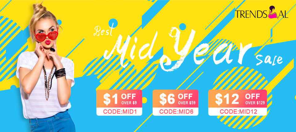 Mid Year Sale: All Sale Up to 75% OFF!