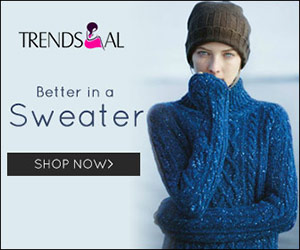 Have a warm winter! Up to 80% off for sweater styles. Shop now!