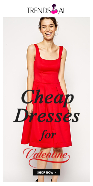 Valentine sale! Cheap dresses for Valentine, your big saving! Shop now!