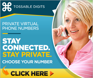 Tossable Digits - Private Virtual Phone Numbers