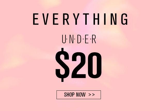 everything under $20