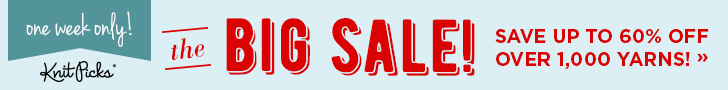 The Big Sale at knitpicks.com