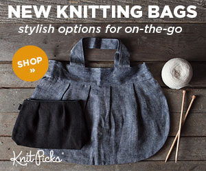 New Knitting Bags at knitpicks.com