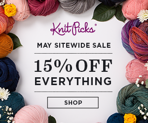 Knit Picks May 2021 Sitewide Sale - 15% off everything