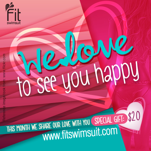 All we need is beautiful swimwear! And because we know you will need more than one, we created this special promo code to pamper you! Use code LOVEMYBIKINI  Shop NOW here www.ftiswimsuit.com