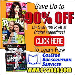 Magazine Discounts for Educators