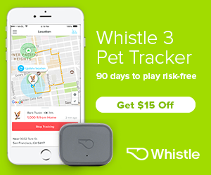 $15 off Whistle 3