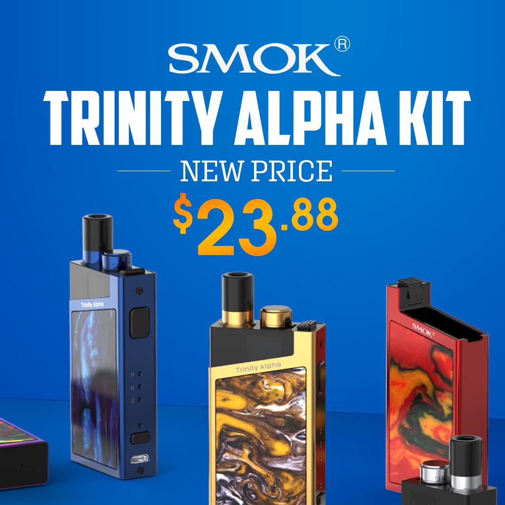 Lowest USA Price for SMOK Trinity Alpha