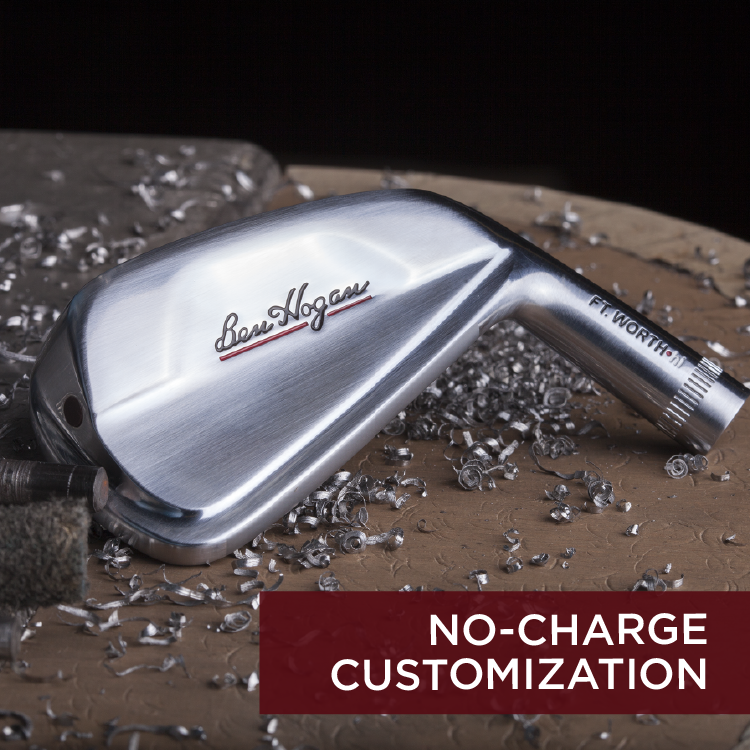 Ben Hogan No Charge Customization