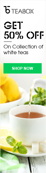 50% off White Tea Collection at Teabox.com