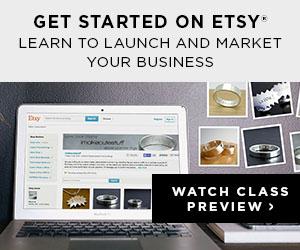 get started on etsy banner