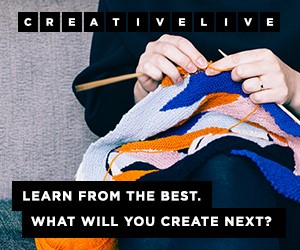CreativeLive. Learn from the best. What will you create next? Sign Up at CreativeLive