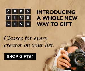 Sign Up at CreativeLive!