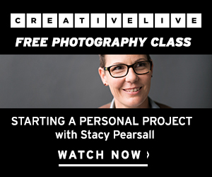 Free photography class at CreativeLive