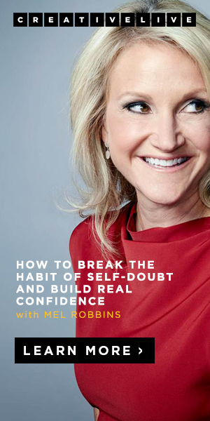 Link to Mel Robbins Creative Live course.