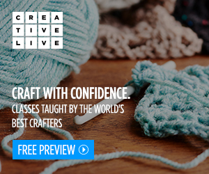 CreativeLive. Craft with Confidence. Classes taught by the world's best crafters. Free Preview.