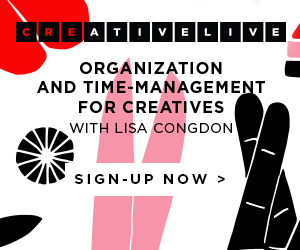 Organisation and Time-Management for Creatives with Lisa Congdon