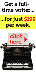 Get a full-time writer... ...for just $199 per week. Click here