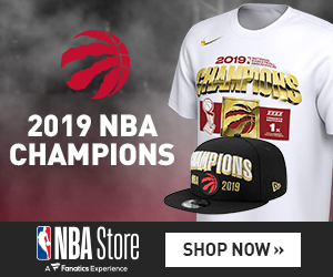 official photos 4297f 6c6dd Prehistoric Magic: Toronto Raptors Claim First NBA ...
