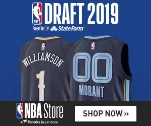 2019 NBA Draft Gear at NBA Store
