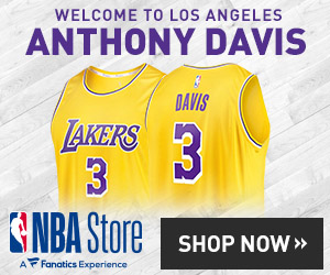 Anthony Davis Lakers Gear