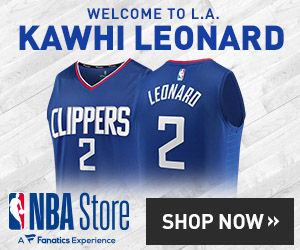 Kawhi Leonard Clippers Gear