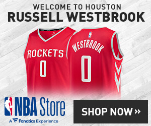 Russell Westbrook Rockets Gear