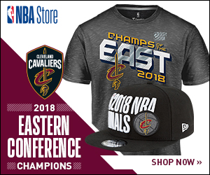 Gear up for the Finals in 2018 Cavaliers Eastern Conference Champs Gear from NBAStore.com