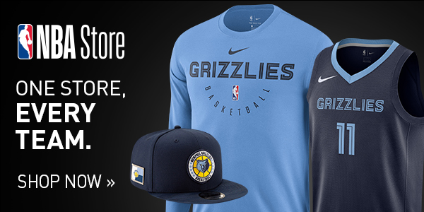 Shop for official Memphis Grizzlies fan gear and authentic collectibles at NBAStore.com
