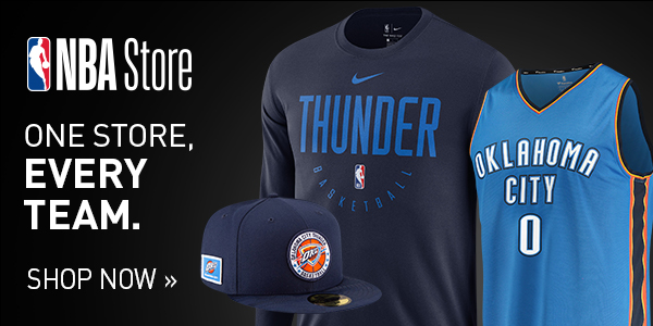 Shop for official Oklahoma City Thunder fan gear and authentic collectibles at NBAStore.com