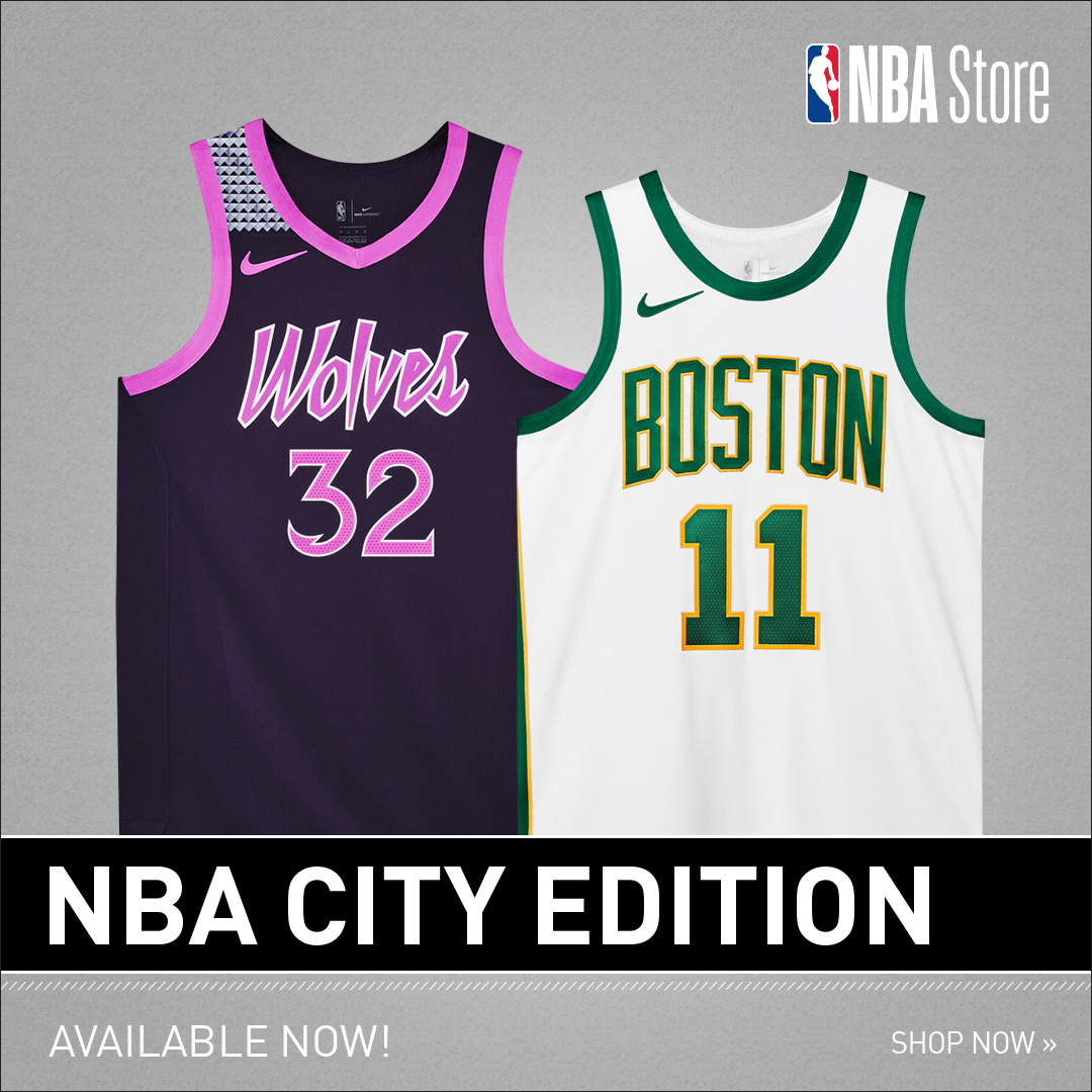 NBA City Edition Collection at NBA Store