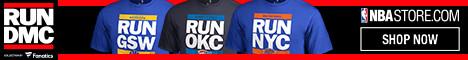 "Shop for exclusive RUN DMC ""RUN CTY"" NBA Fan Gear at NBAStore.com"