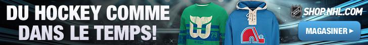 Du hockey comme dans le temps à Shop.NHL.com