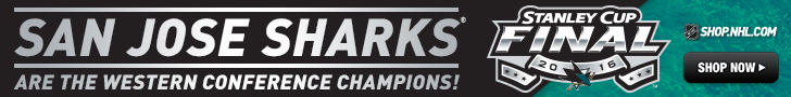 Shop for San Jose Sharks 2016 Western Conference Champs Fan Gear and Collectivles