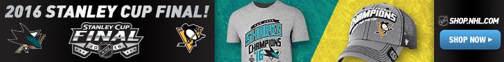 Shop for Penguins, Sharks and Stanley Cup Finals Logo Gear at Shop.NHL.com