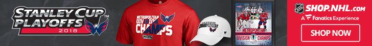 Washington Capitals 2018 Division Champs Gear