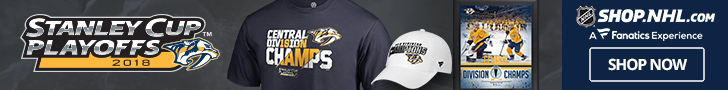 Nashville Predators 2018 Division Champs Gear