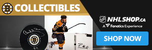 Shop for Boston Bruins Collectibles and Memorabilia at NHLShop.ca