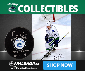 Shop for Vancouver Canucks Collectibles and Memorabilia at NHLShop.ca