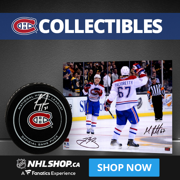 Shop for Montreal Canadiens Collectibles and Memorabilia at NHLShop.ca