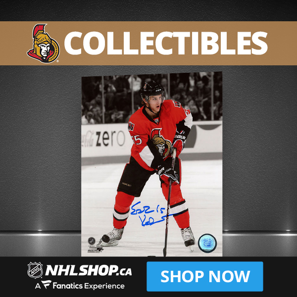 Shop for Ottawa Senators Collectibles and Memorabilia at NHLShop.ca
