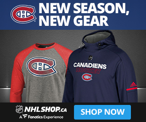 Shop for Habs fan gear at NHLShop.ca