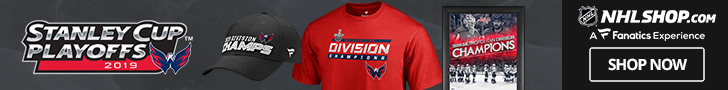 Washington Capitals 2019 Metropolitan Division Champs