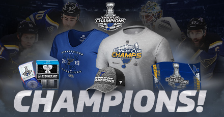 St. Louis Blues 2019 Stanley Cup Champs Gear and Collectibles