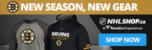 Shop for Boston Bruins fan gear at NHLShop.ca