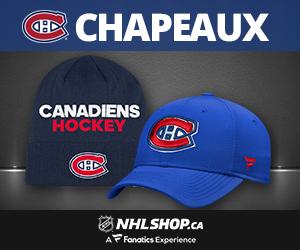 Chapeaux de Canadiens de Montréal sur NHLShop.ca