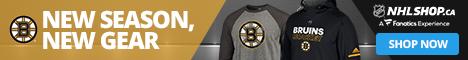 Shop for Boston Bruins fan gear at NHLShop.ca